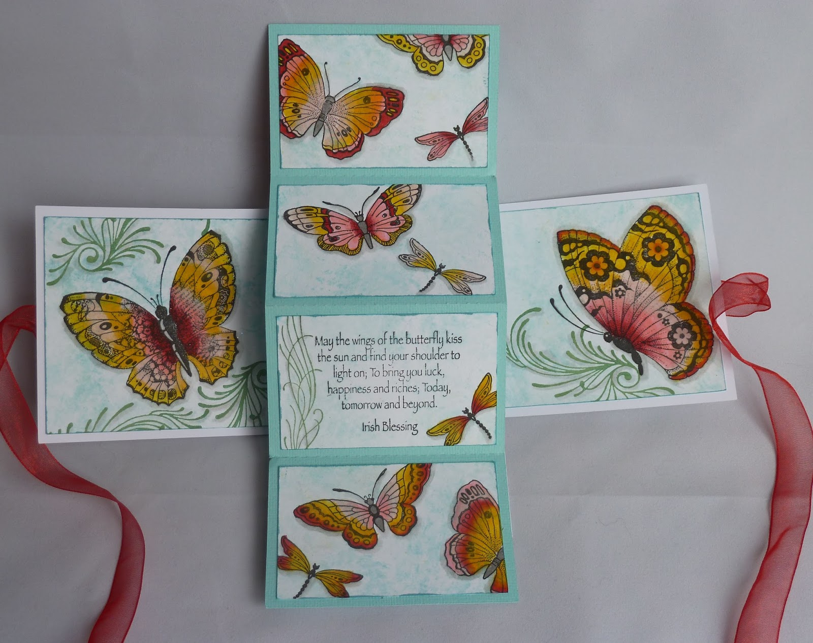 chocolate baroque design team patchwork butterfly by julie