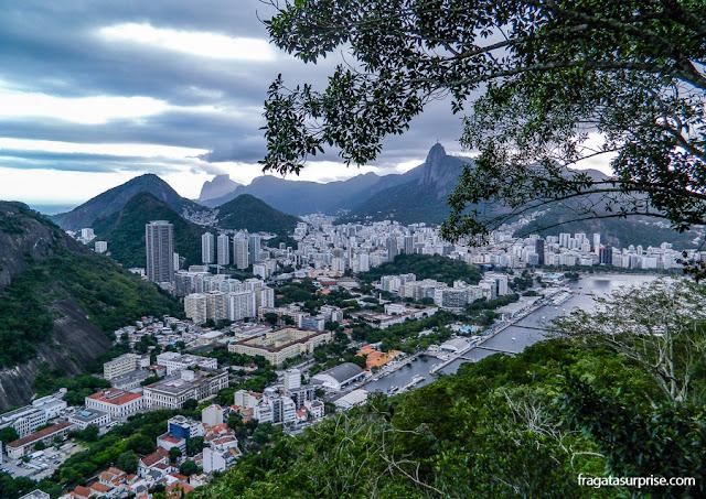 Bairro de Botafogo visto do alto do Morro da Urca