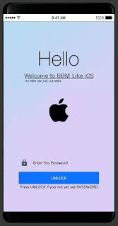 BBM MOD Like iOS v3.3.2.31 Apk Clone Terbaru Full Update
