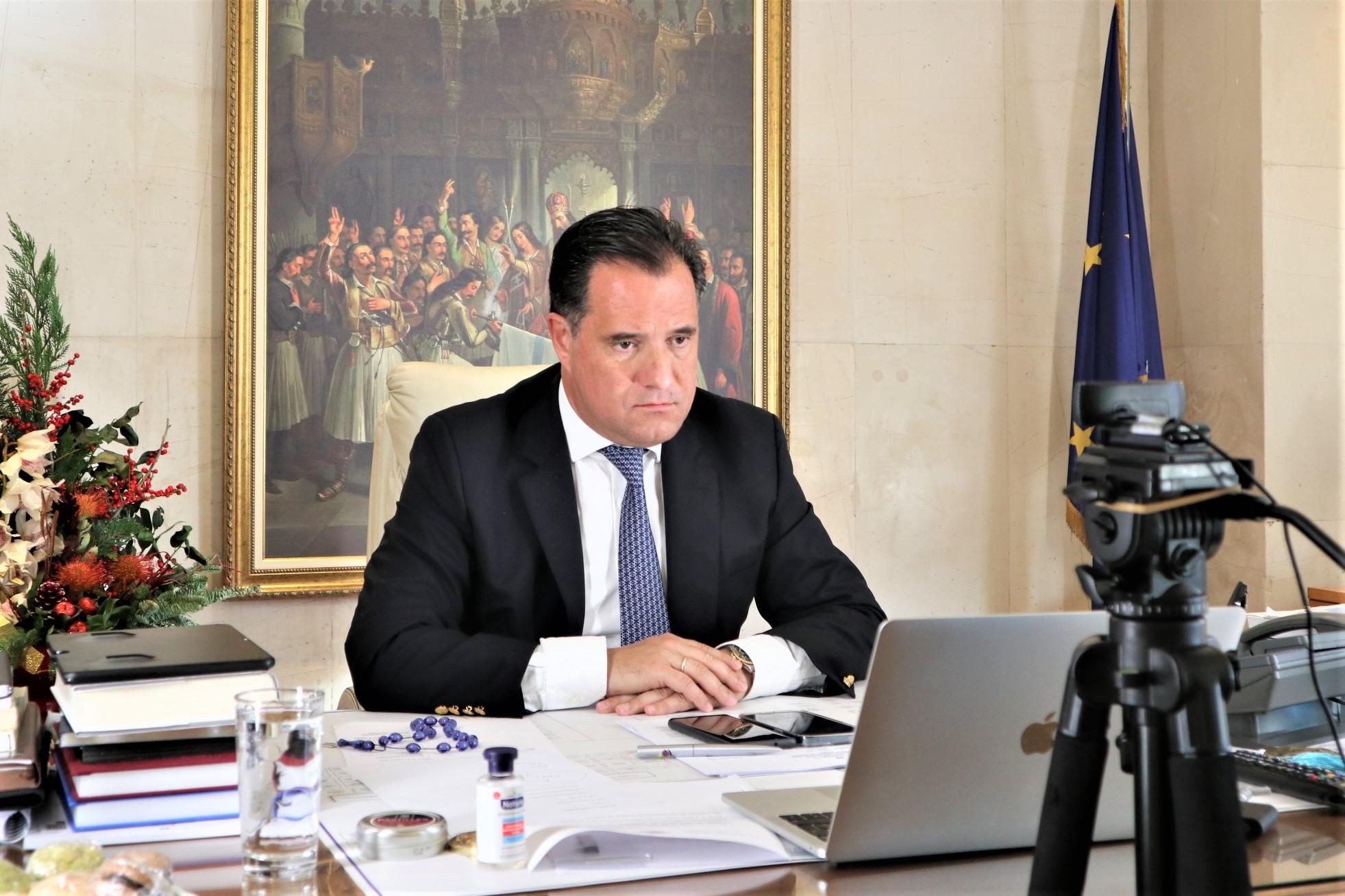Γεωργιάδης: Ζητήσαμε να μπει «κόφτης» στα SMS αλλά οι εταιρείες αρνήθηκαν