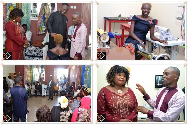 #PHOTONEWS:  MISS GLORIA Otouaye launches her Fashion House  (GLOWARES)