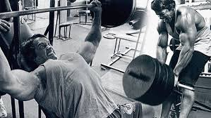 arnold chest workout, arnold bench press
