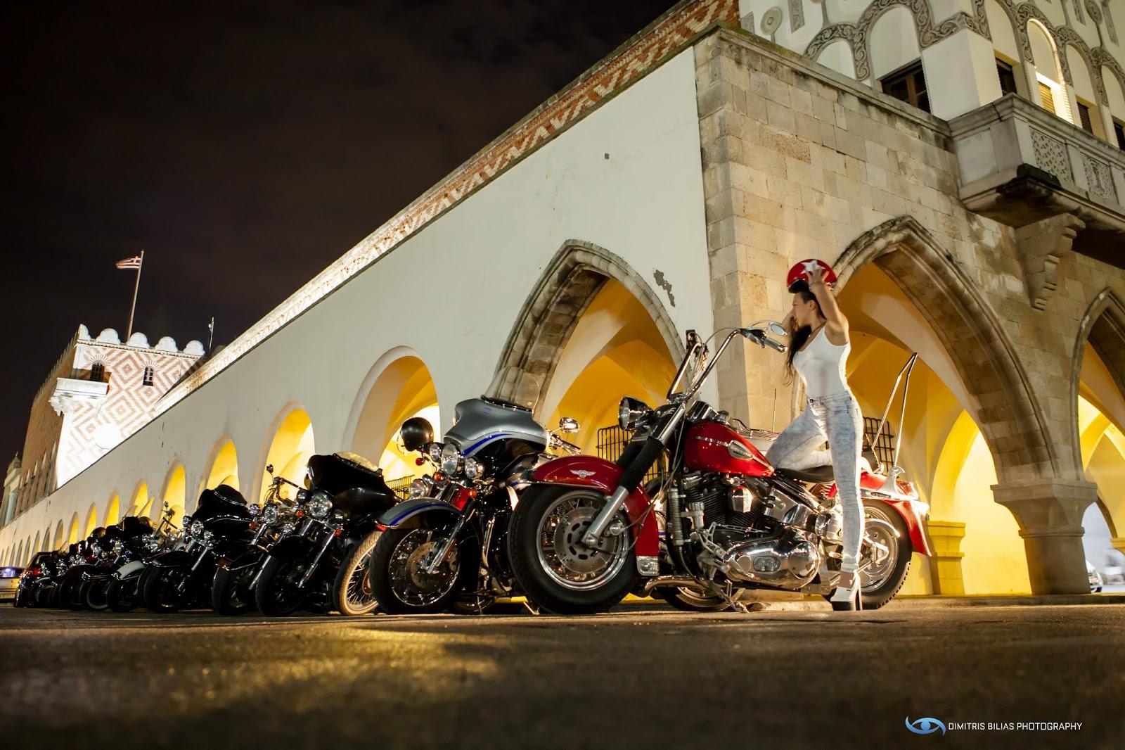 Εντυπωσιακά έκλεισε ο Μάιος για τη σμαραγδένια Ρόδο, που υποδέχθηκε άψογα τους «ιππότες» με τις Harley-Davidson