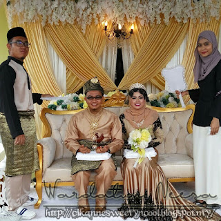 Pengantin lelaki dan pengantin perempuan secocok