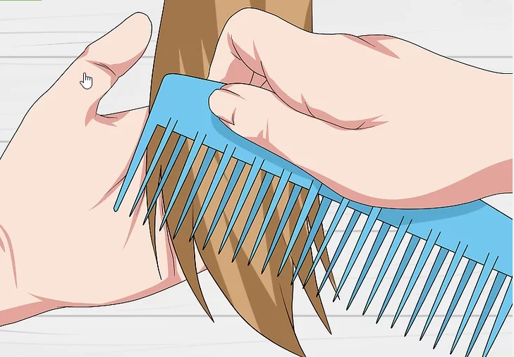 comb the lace front wigs