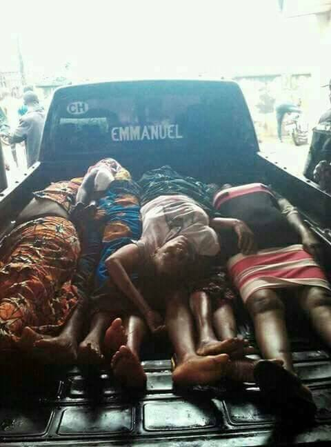 Many killed asgun men invade Catholic church in Anambra this morning