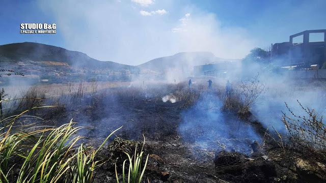 Μικρής έκτασης πυρκαγιά σε περιοχή στο Παναρίτη