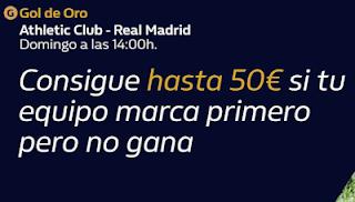 william hill Gol de Oro Athletic vs Real Madrid 5-7-2020