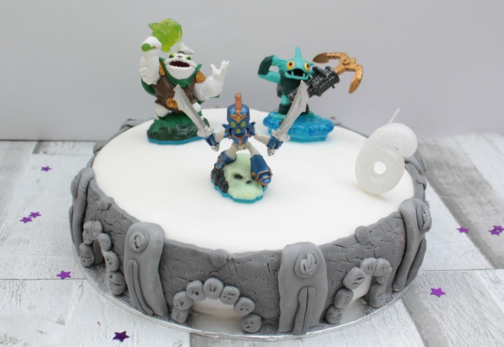 Outstanding Skylanders Portal Of Power Cake Birthday Cards Printable Inklcafe Filternl