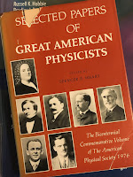 Selected Papers of Great American Physicists, superimposed on Intermediate Physics for Medicine and Biology.