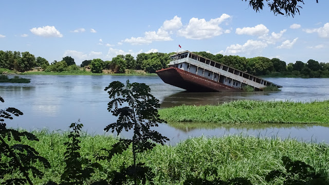 The shipwreck in Juba is a mysterious case