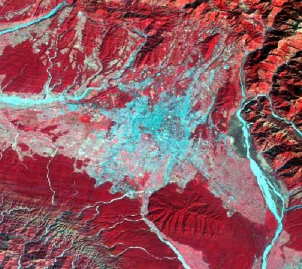 Anthropologists search NASA data for migration and land use patterns in the Himalayas