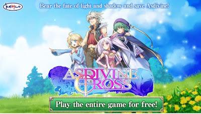 Download Game RPG Asdivine Cross v1.1.0g Mod Apk