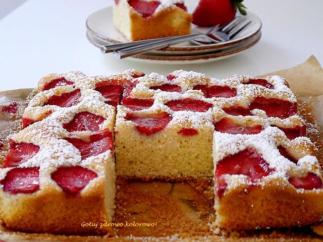 Pyszne ciasto z truskawkami - Czytaj więcej »