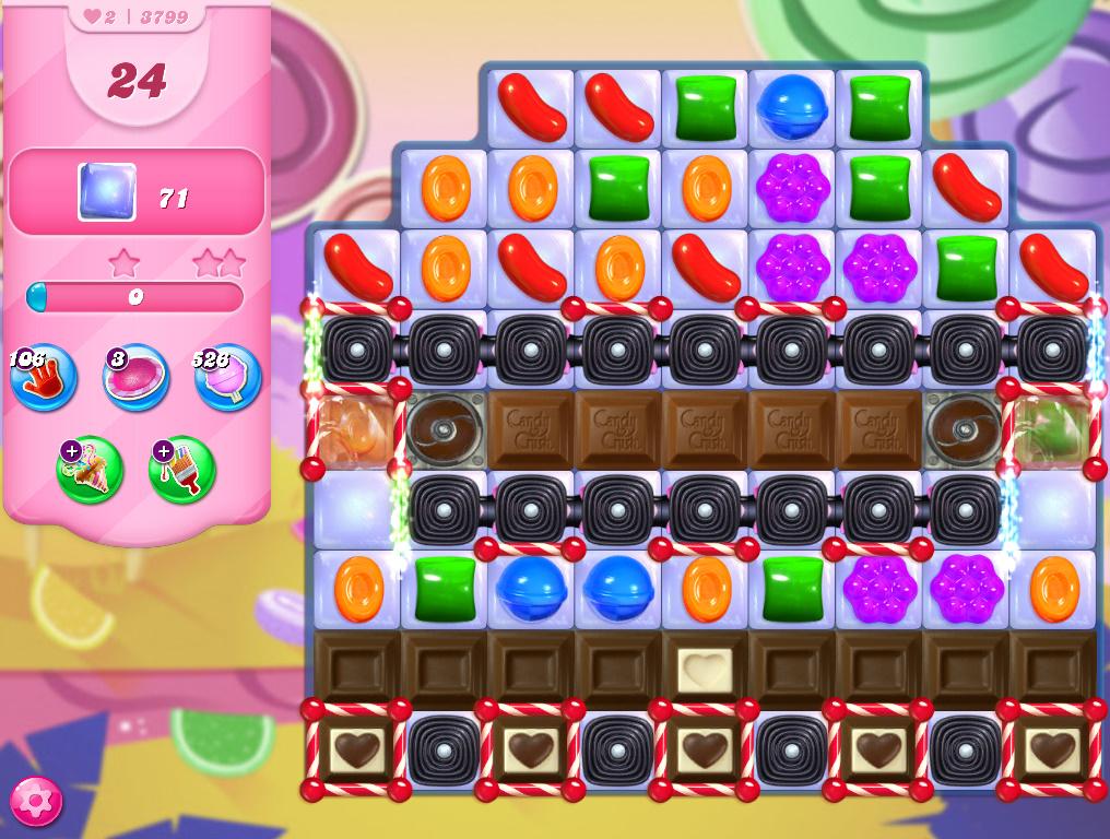 Candy Crush Saga level 3799