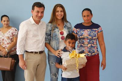 """Prefeitura de Juquiá inaugura """"Creche Escola - Dr. Florisval Arteiro"""""""