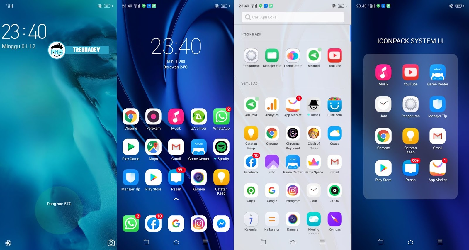 Themes Vivo S1 Pro UI Premium for OPPO & Realme