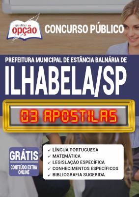 Apostila Concurso Prefeitura de Ilhabela SP 2020 PDF Edital Online Inscrições