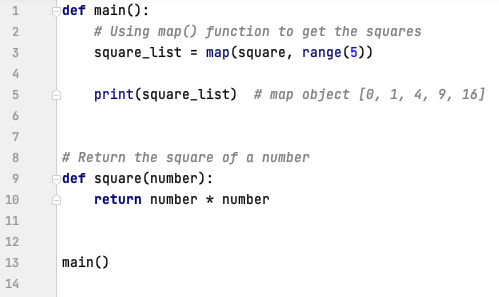 map() function in Python