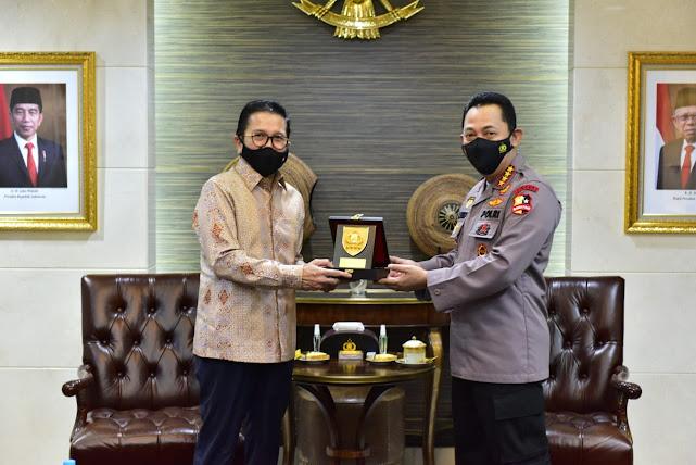 Kapolri Minta PT Preeport Aktif Berpatisipasi Membangun Papua