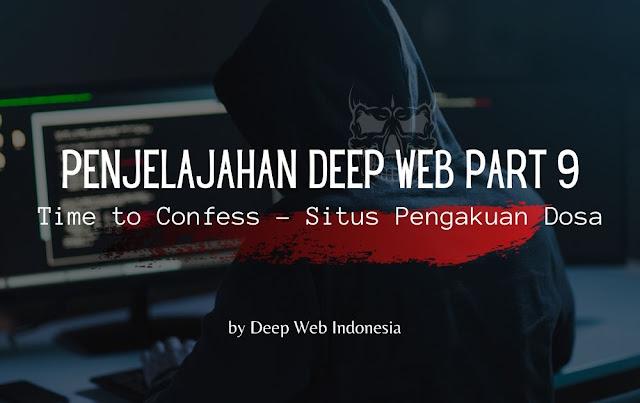 Situs Pengakuan Dosa Dark Web