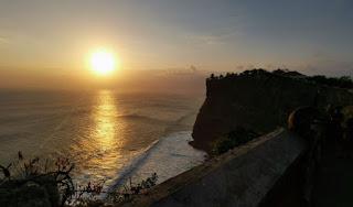 Pura Luhur Uluwatu. Isla de Bali, Indonesia.