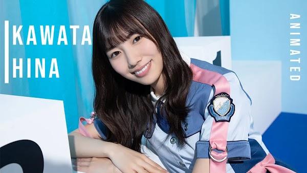 Stiker Gerak WhatsApp Kawata Hina - Hinatazaka46 v.1.0