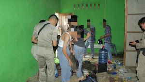 Bolos Sekolah, Pelajar Bertato dan Tegak Minuman Keras di Rimbo Bujang Diamankan Pol PP