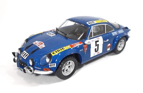 WRC collection 1:24 salvat españa, Alpine-Renault A110 1800 1:24