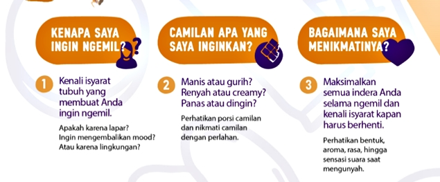 3 Tips #NgemilBijak