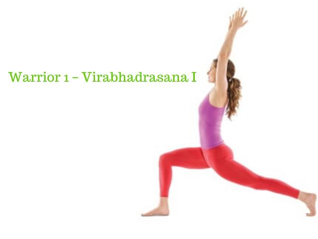 Warrior 1 – Virabhadrasana I