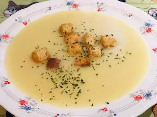 Crema De Puerro, Ajo Y Patata (thermomix)