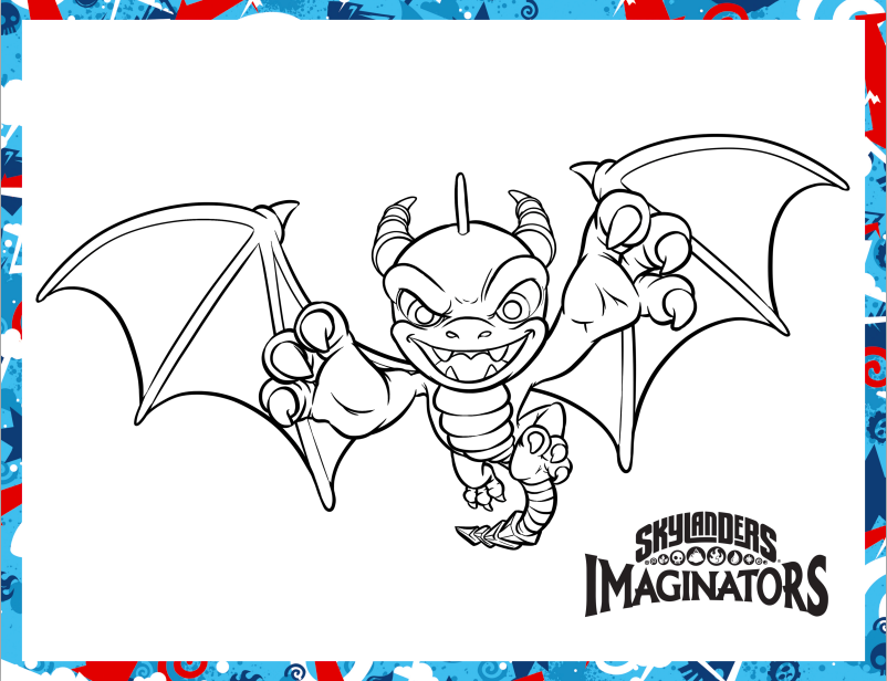 skylanders coloring pages dejau printable - photo#21