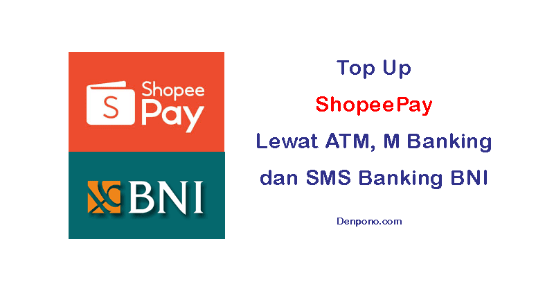 cara top up shopeepay lewat atm sms