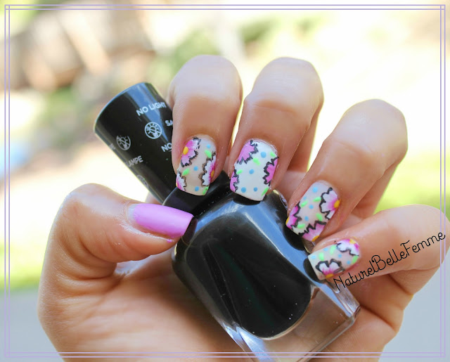 One stroke flower nails