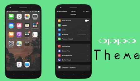 Download Tema IOS  | iPhone Untuk Oppo ColorOs 3 (Oppo A83, A37, F1, A71, F5, F7 Dll)