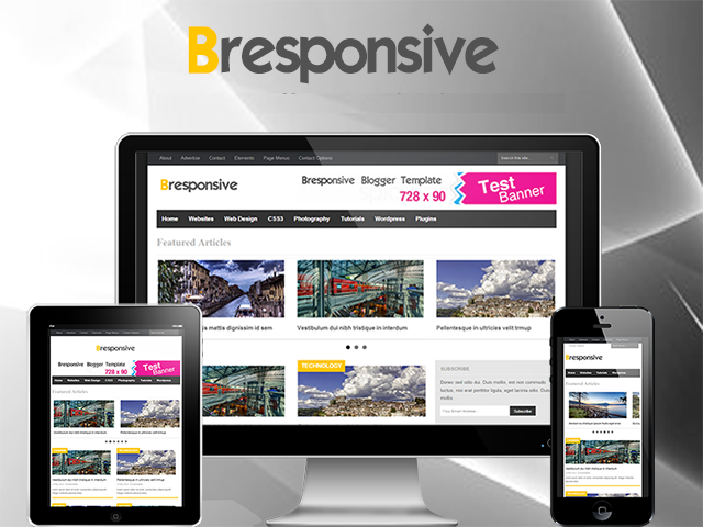 responsive blogger templates