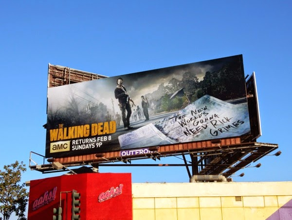 Walking Dead midseason 5 billboard