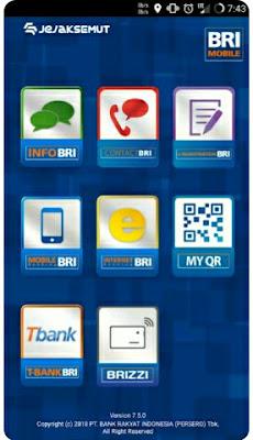 Aplikasi BRI mobile