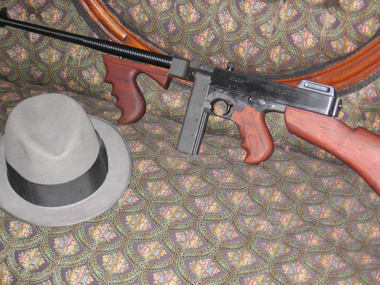 Old School Guns: More on the Thompson!