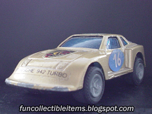Porsche 942 Turbo Toy Vehicle