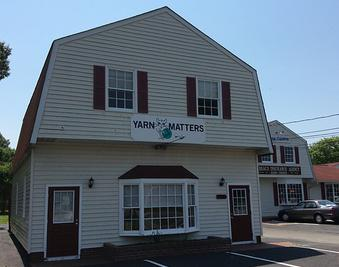 James River Yarn Crawl 2019. Yarn Matters yarn shop located in Norge near Williamsburg, VA