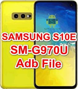 Samsung S10e SM-G970U Adb File/Usb Debugging Enable File Download To Remove FRP