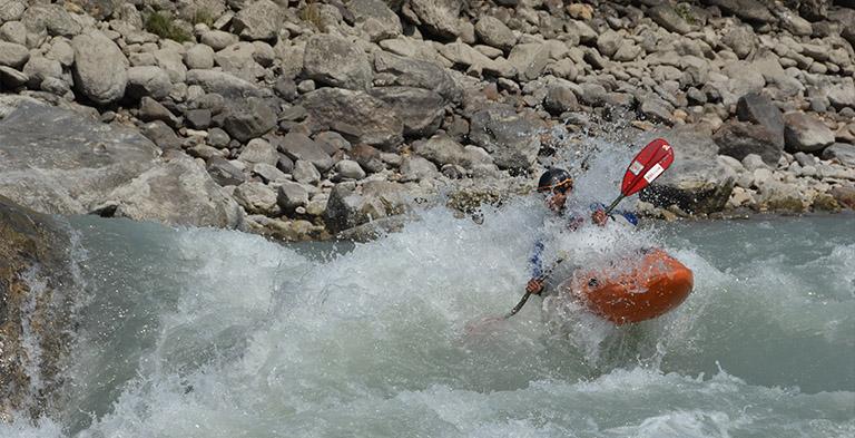 White-water Rafting and Kayaking