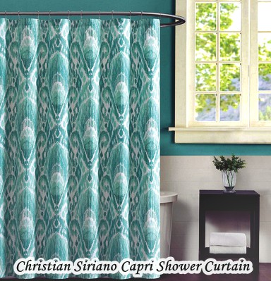 Bathroom Sets With Shower Curtain - Christian Siriano Capri