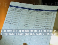 libretto bancario o libretto postale