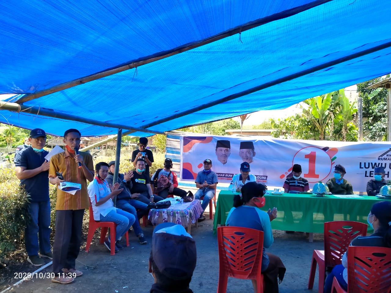 Warga Seko, Mandan Paratu Sebut Program Prioritas Nomor Urut 1 Masuk Akal Dan Berpihak Ke Masyarakat