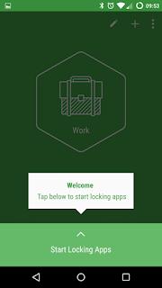 Start locking apps