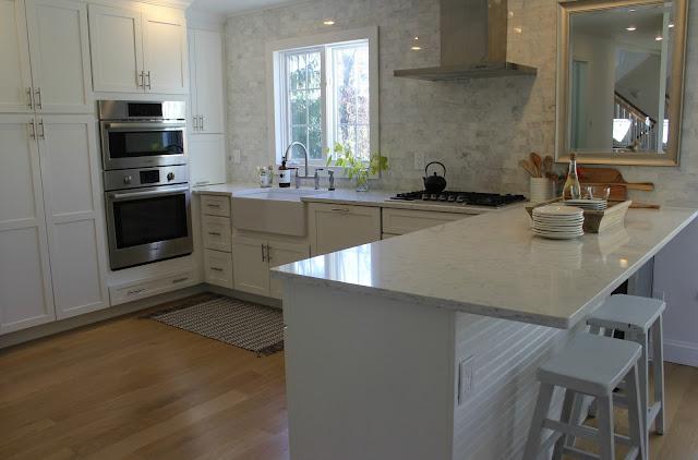 hello lovely-white-Shaker-kitchen-Minuet-quartz-tranquil-timeless