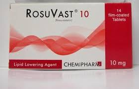 سعر ودواعى إستعمال اقراص روزوفاست Rosuvast لتقليل الكوليسترول